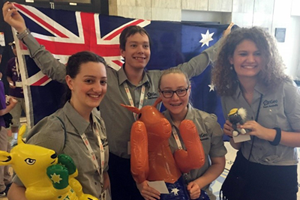 Australian Geography Competition team members