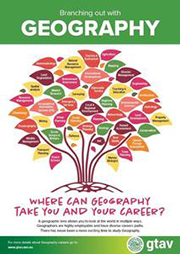 Careers Poster – Branching out with Geography